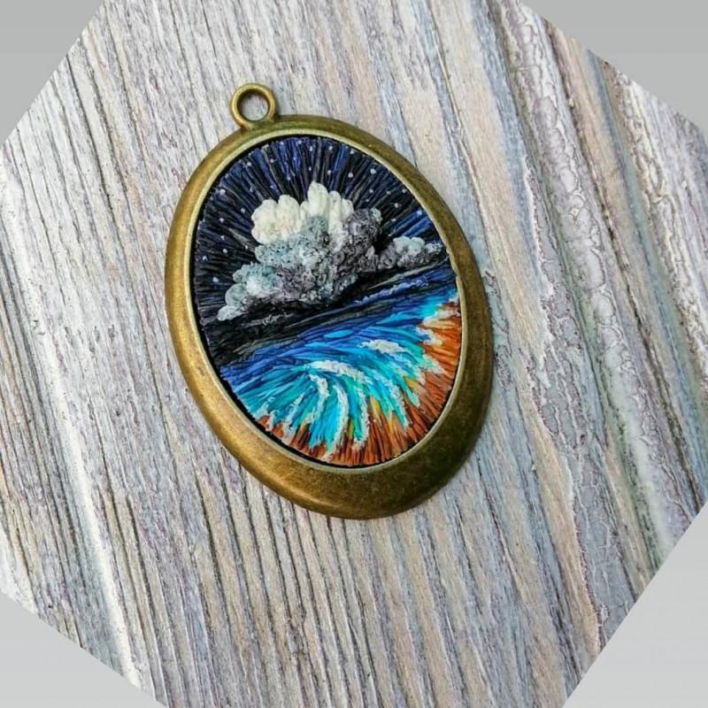 Кулон Морской пейзаж